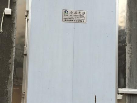 福建冷库设备门案例